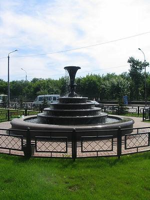 парковый фонтан, фонтан из искусственного камня, готовые фонтаны, облицовка борта фонтана, архбетон, архитектурный бетон, искусственный камень