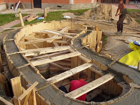 бетонирование, Водоем на даче, строим водоем на даче своими руками