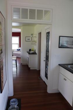 Hallway into Kitchen at MJ