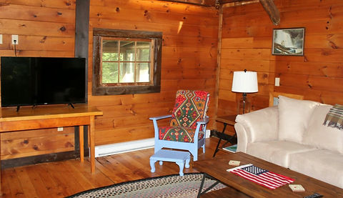 Woodland Cabin Features
