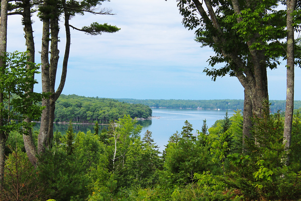 High Head Rental View - Sea Maine