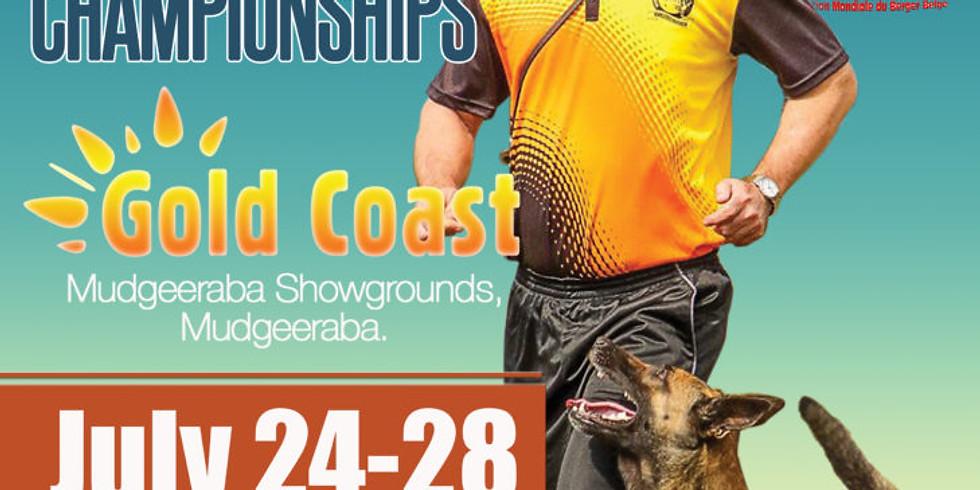 Australian Open IPO and Mondioring Championships