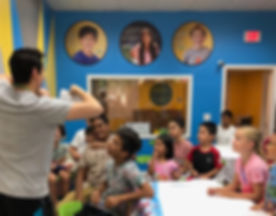 Kids In Robotics Camp