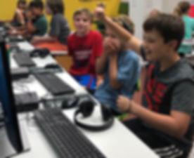 Boys In Scratch Camp