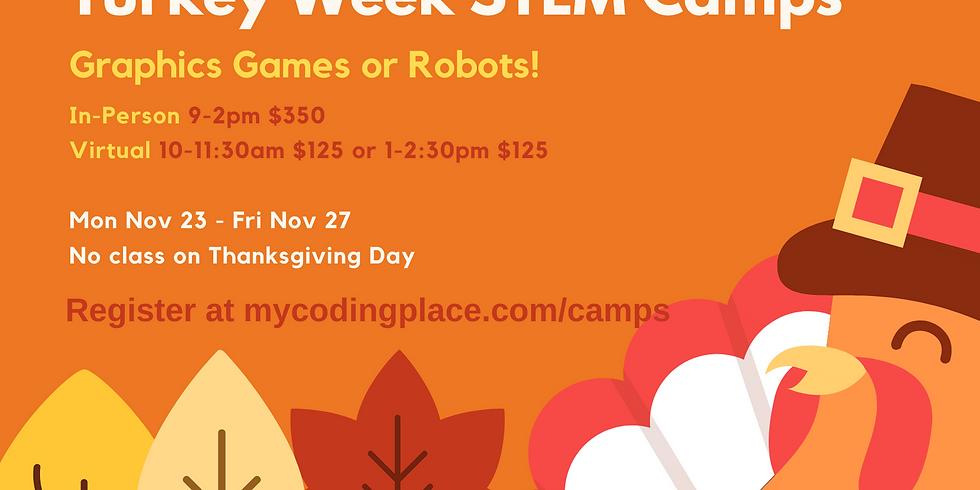Turkey Week STEM Camps