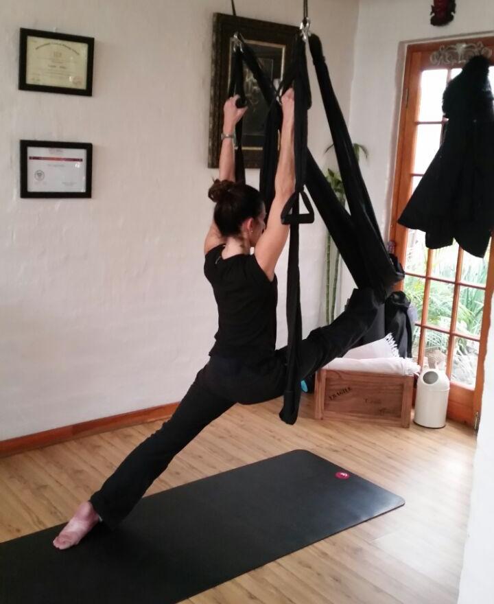 Aerial Asana Safe Stretching
