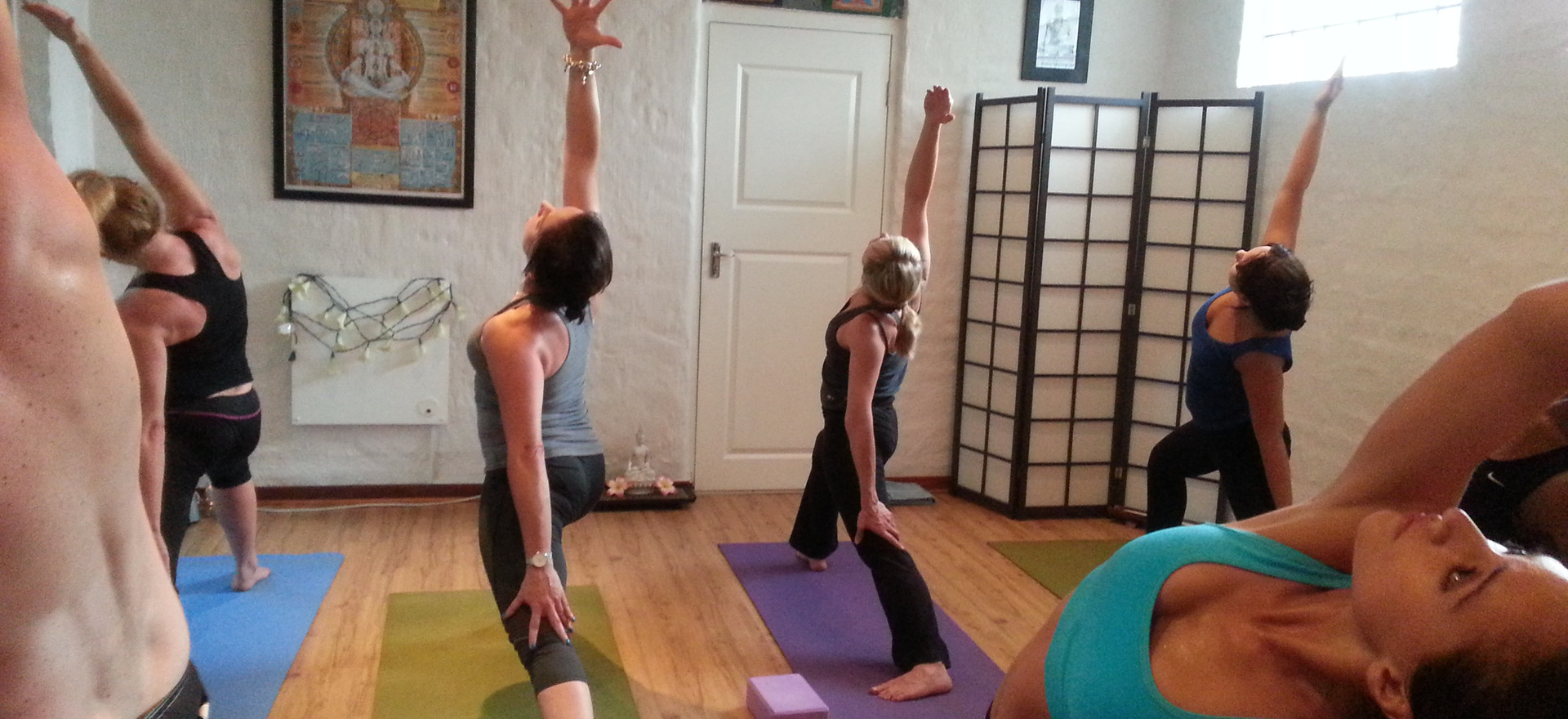 Group Classes at The Yoga School