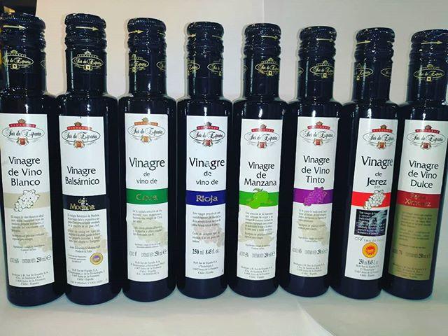 Disfruta en casa la veriedad de vinagres