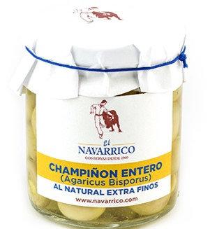CHAMPIÑON ENTERO AL NATURAL EXTRA FINOS