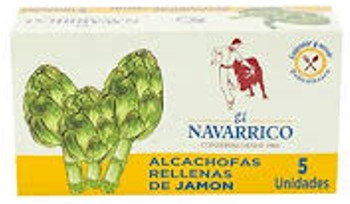 ALCACHOFAS RELLENAS DE JAMON