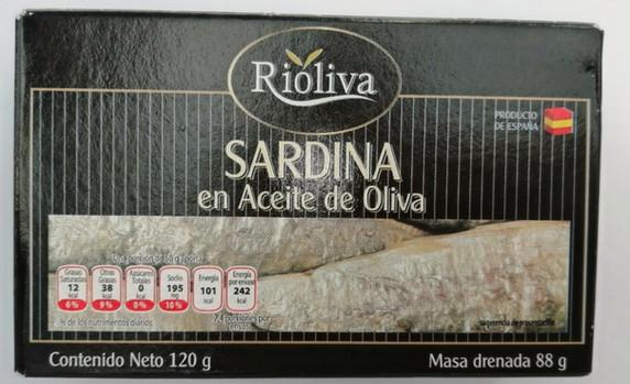 SARDINA EN ACEITE DE OLIVA