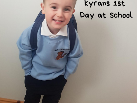 Kyrans 1st Day at School
