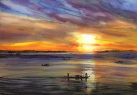 Cambodian sunrise