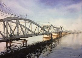 Old bridge Kampot