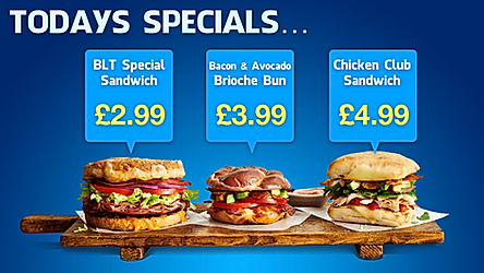 Digital Signage - .Todays Specials Digit
