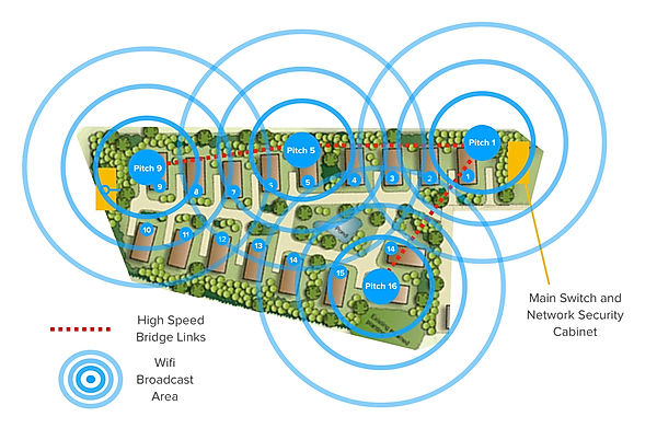 Clubwifi Park Map