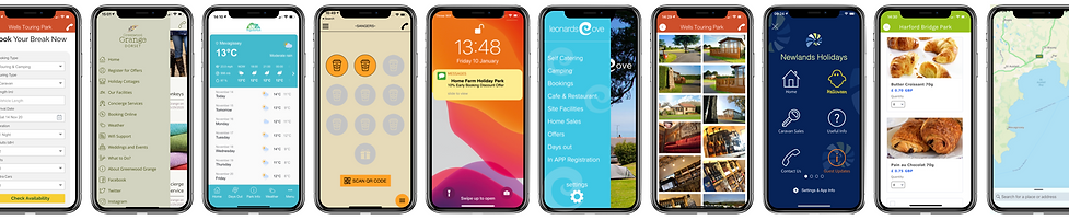App Designs for Tourism and Business