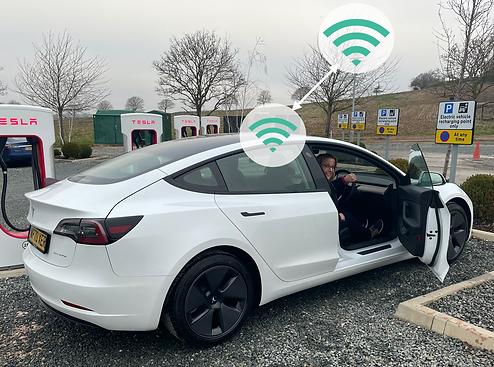 EV charging wifi