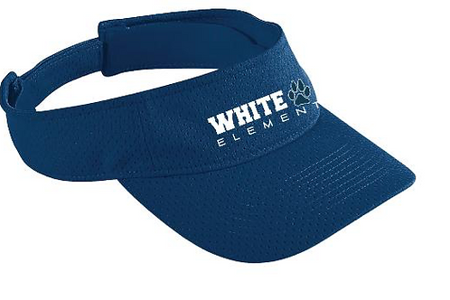White Oak Adjustable Mesh Visor - Navy - In Stock
