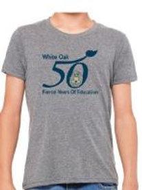 50th Tee - Dark Grey - Small - In Stock