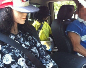 Man charged with driving with 2 mannequins in HOV Lane