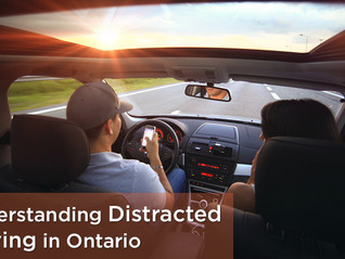 Distracted Driving in Ontario:  What's Legal and Illegal?