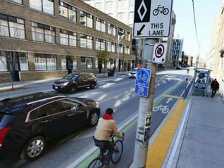 Toronto's bike lanes - we could do better