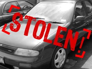 Top 10 Vehicles Stolen in 2014