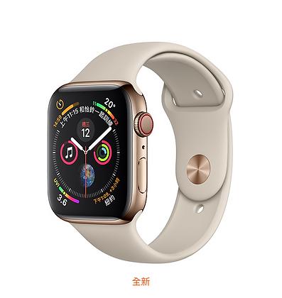 金色不鏽鋼錶殼搭配石色運動型錶帶