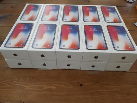 威通訊週年慶IPhone X256G優惠搶購活動