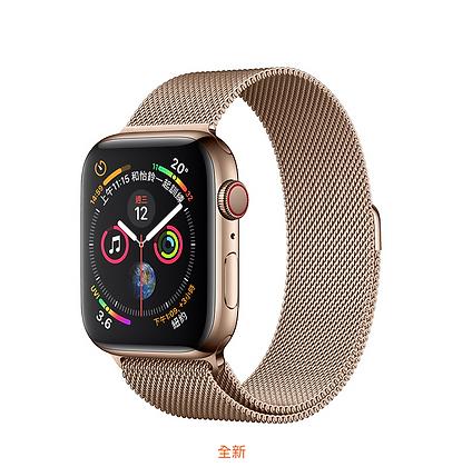 金色不鏽鋼錶殼搭配金色米蘭式錶環