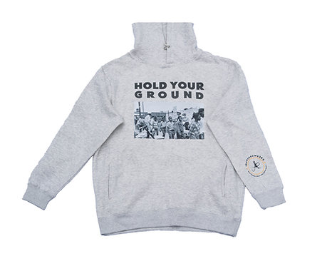 Hold Your Ground Oatmeal Hoodie