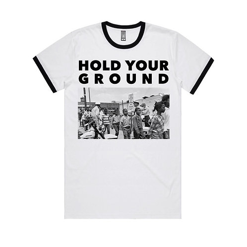 Hold Your Ground Tee - White
