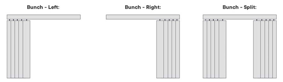 vertical opening options