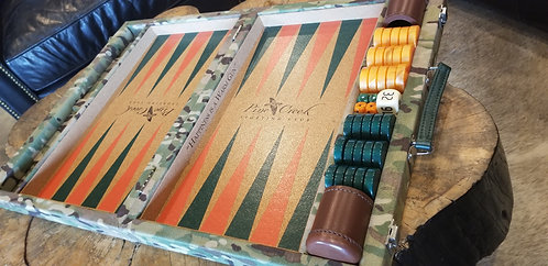 Pine Creek Camo Backgammon Board