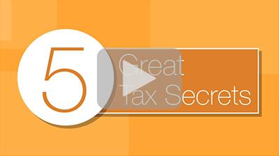 5 Great Tax Secrets