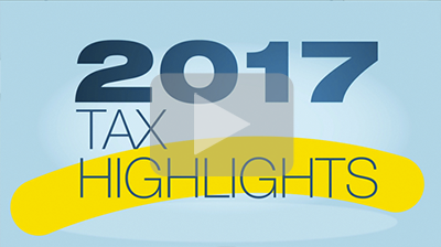 2017 Tax Highlights