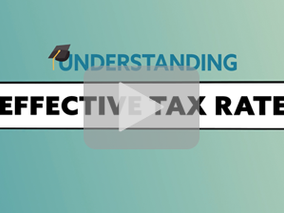 Understanding Effective Tax Rate