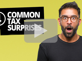 4 Common Tax Surprises
