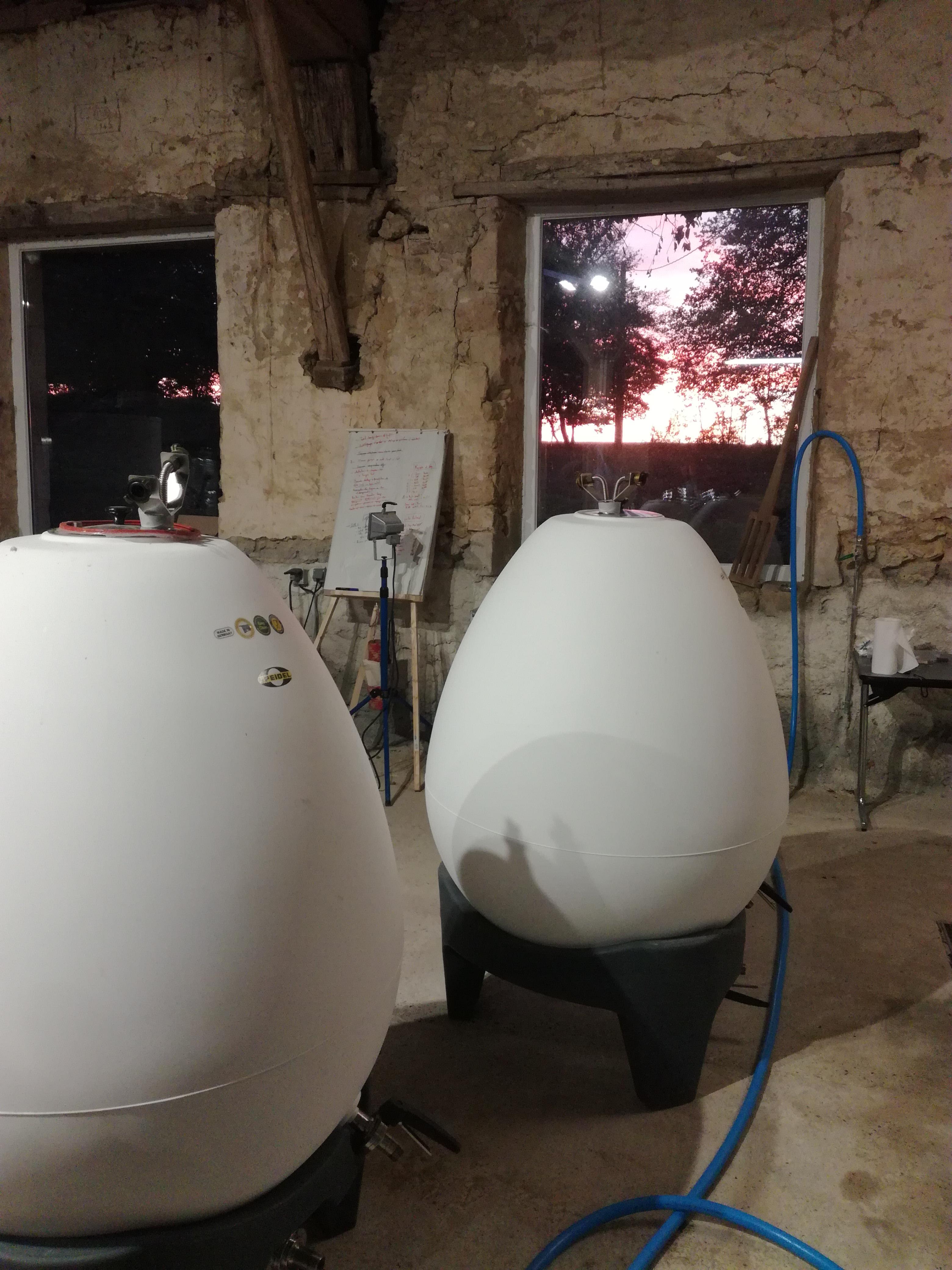 cuves fermentation bières crépuscule