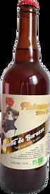 "Bières artisanale bio ""Phénomène"" blonde"
