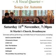 11th November 2017 - St Martin's Church Concert