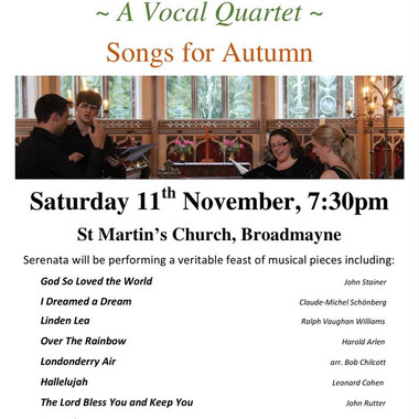 11th November 2017 - St Martin's Church Concert