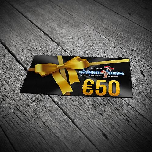 Alpenmax Geschenkkarte 50,-