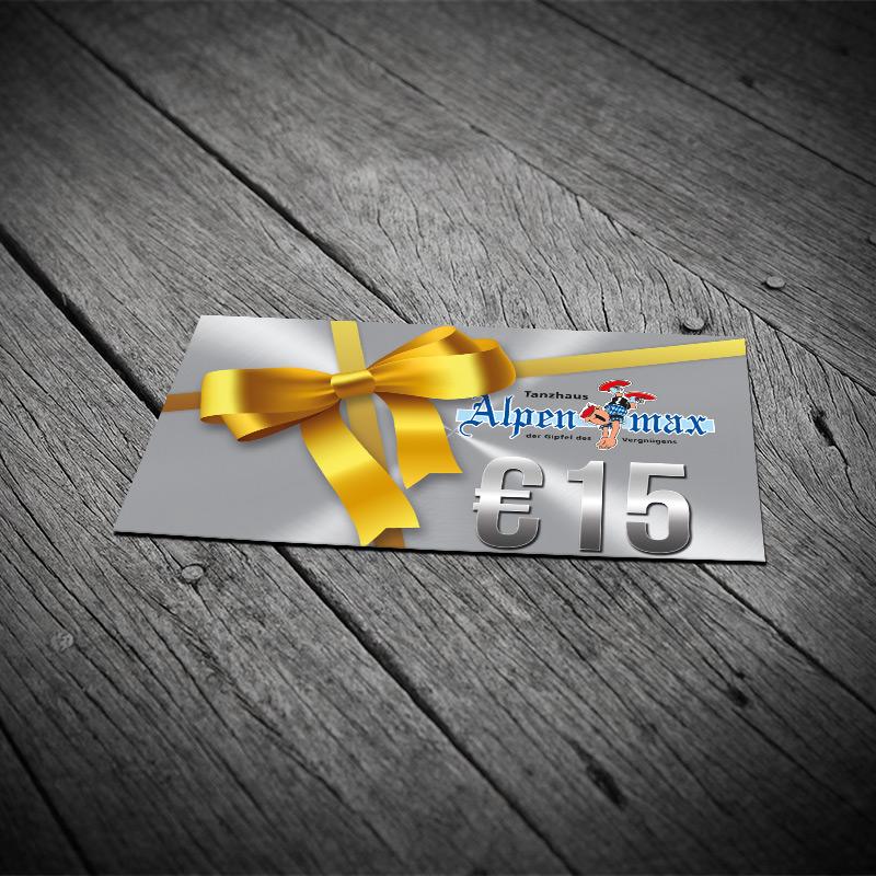 Geschenkkarte 15,-