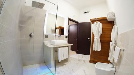 Bagno Camera Matrimoniale con Sauna
