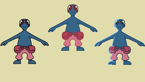 lizard alien colour tests.jpg