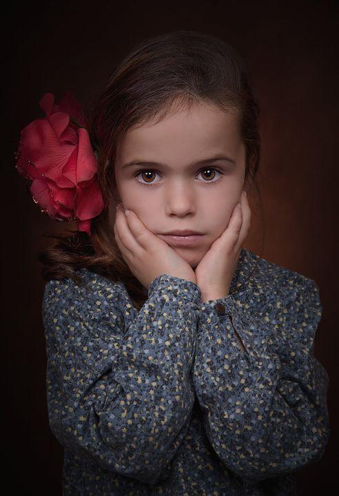 portrait fine art enfant
