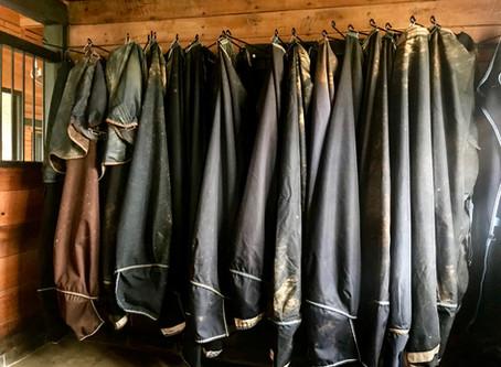 Blanket Storage: No Folding Required