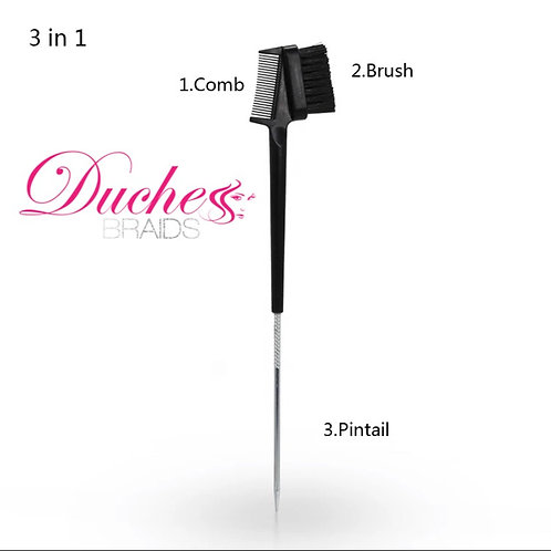 Duchess Braids Pintail Edge Brush